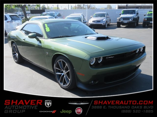 Thousand Oaks Dodge >> Pre Owned 2018 Dodge Challenger R T With Navigation