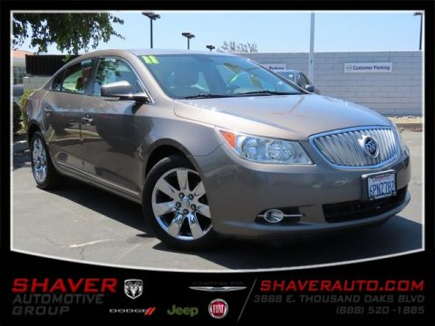 Pre-Owned 2011 Buick LaCrosse CXL FWD 4D Sedan