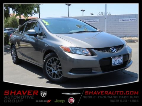 Pre-Owned 2012 Honda Civic EX-L FWD 2D Coupe