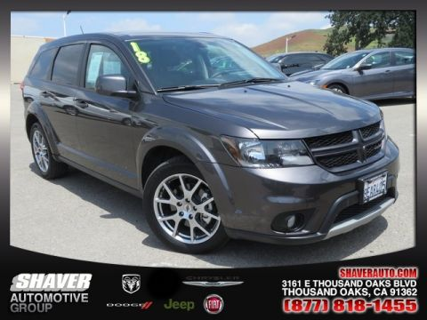 Thousand Oaks Dodge >> Pre Owned 2018 Dodge Journey Gt Fwd 4d Sport Utility